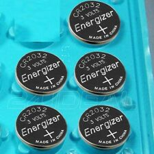 5 PC ENERGIZER CR2032 WATCH BATTERIES 3V LITHIUM CR 2032 DL2032 BR2032