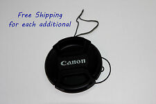 58mm Front lens cap Center-pinch leash for Canon EOS