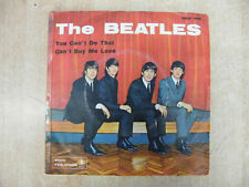 "THE BEATLES 45 GIRI 7"" YOU CAN'T DO THAT CAN'T BUY MY LOVE QMSP 16361 1964"