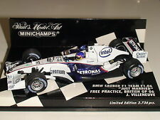1:43 J. Villeneuve~BMW Sauber~ 'Just Married' 2,736pcs - Minichamps 400060117