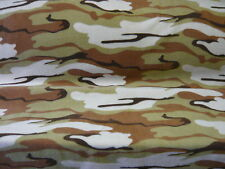 5mts TOP QUALITY DESERT CAMOFLAGE PRINT POLAR FLEECE FABRIC