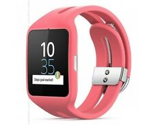 Sony SmartWatch 3 SWR50 Android 4.3 NFC IP68 GPS 4 GB - Retail Box - Pink