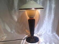 Rare Magnificent Jumo 1930's Art Deco Bakelite Mushroom Lamp