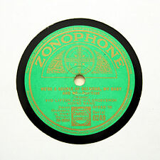 "SYD LIPTON BAND ""We're A Couple Of Soldiers, My Baby And Me"" ZONOPHONE [78 RPM]"