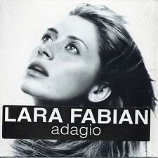 ★☆★ CD SINGLE Lara FABIAN Adagio 2-Track CARD SLEEVE sticker NEW SEALED  ★☆★