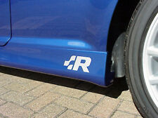 VW Racing Side Skirt Sill  Decals Stickers Badges Golf Lupo Polo R32 ALL OPTIONS