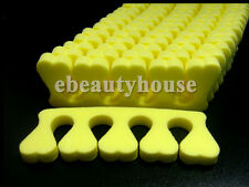 50 Soft Toe Finger Separator Nail Art Manicure Pedicure #030A
