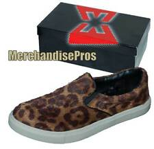 WOMEN'S EMERGENCY EXIT 'LEOPARD' FASHION SLIP-ON SNEAKERS SHOES 7.5M MEDIUM NEW!