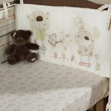 Bed-e-byes Baxter and Rosie Fitted Sheet Cot / Cotbed Size 70cm x 140cm