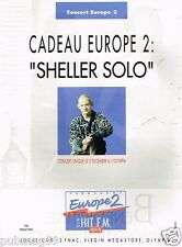 Publicité Advertising 1991 Concert radio Europe 2 William Sheller