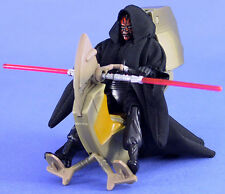 Star Wars episodio de lujo 1 Ultra Raro Sith Speeder & Suelto Darth Maul. C-10+