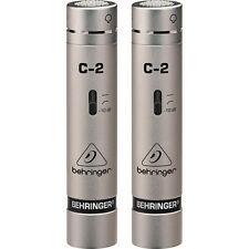 BRAND NEW Behringer C-2 Small Diaphragm Condenser Microphone Pair C2