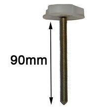Pair of Extra Large Bed Bolts with thumbwheel for Headboards -to use with Struts
