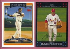 2006 2007 TOPPS & RED BACKS LOT COMPLETE YOUR SET & GOLD & INSERTS 20 PICKS