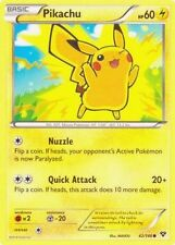 4X Pikachu 42/146 - Common Electric Pokemon - NM - XY Base Set