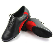 Genuine Leather Latin dance Shoes Male Suede Leather Soft bottom ballroom shoes