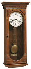 "613-110 HOWARD MILLER KEY WOUND CHIME WALL CLOCK ""WESTMONT"""
