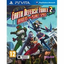 Earth Defense Force 2 Invaders from Planet Space PS Vita Game Brand New