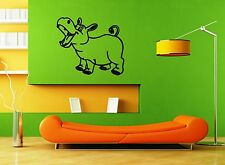 Wall Stickers Vinyl Decal For Kids Nursery Hippo Animal ig1438