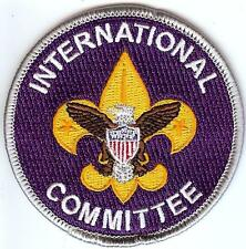 Boy Scout Private Issue International Committee Position Non BSA Patch