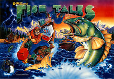 UpdatePinball Flipper Mise à Jour Williams FISH TALES