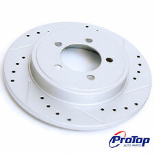 ProTop High Performance Geomet Pair Brake Disc Rotors for Elantra Galant Lancer