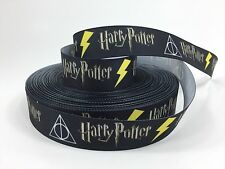 "BTY 1"" Movie Harry Potter Deathly Hallows Grosgrain Ribbon Hair Bows Lisa"