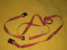 NISSAN 300ZX LUGGAGE STRAPS REAR FLOOR RED COLOR 1984-1989