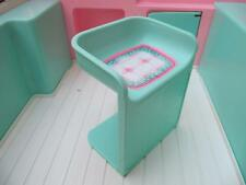 Barbie Doll Size 1996 RV MOTORHOME Replacement KITCHEN CHAIR FURNITURE only MINT