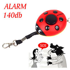 Safety Beetle Personal Alarm Electronic Self Protection Anti-Wolf keychain