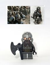 figurine Lego The Hobbit - Custom Iron Hills Dwarf  - 79013  - 79017  - 79018