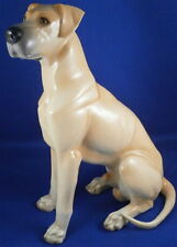 Nice Nymphenburg Porcelain Great Dane Dog Figure Figurine Porzellan Figur Hund