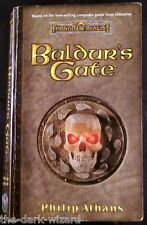 Baldur's Gate Paperback Novel Computer Game Tie-in Softcover