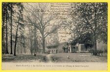 cpa 92 - RUEIL MALMAISON (Hts de Seine) MAISON du GARDE CHÂLET ETANG St CUCUFA