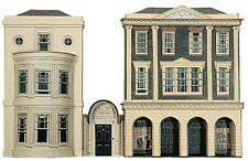 Superquick REGENCY PERIOD SHOPS and HOUSE Card Building Model Kit C4 00/HO Gauge