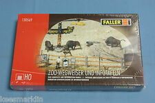 Faller 130569 Zoo Sign Posts and info Panels Kit HO