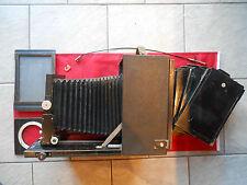 Mentor Studio 13x18 Plattenkamera Großbildkamera Holzkamera mit 5 Platten