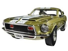 1968 FORD SHELBY MUSTANG GT 500 KR GT500 GOLD 1:18 BY ROAD SIGNATURE 92168