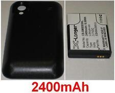 Batterie Pour SAMSUNG GT-S5830T Galaxy S Min EB494358VU, Avec Cache **2400mAh**