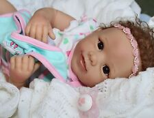 Mommy LOVES ME! - Feel her breathe! 19Inch Collectors Baby Girl Doll + 2 Outfits