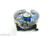 DISPADOR+VENTILADOR LED PARA CPU SOCKET 775 1156 AM2 AM2+ AM3 LED CPU FAN COOLER