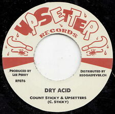** THE UPSETTERS  DRY ACID + VOCAL CUT LEE PERRY PROD MASSIVE BOSS REGGAE ANTHEM