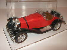1:18 Mercedes Benz SSK red 1928 Burago in showcase TOP