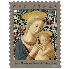 USPS New Florentine Madonna and Child Booklet of 20