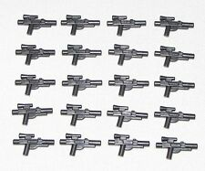 Lego Lot of 20 New Pearl Dark Grey Star Wars Guns Weapons Blasters Pieces
