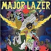 MAJOR LAZER, FREE THE UNIVERSE, SEALED 14 TRACK CD ALBUM FROM 2013