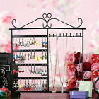 Earrings Necklace Jewelry Display Show Rack Metal Stand Organizer Hanging Holder