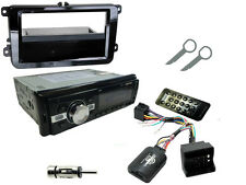 SKODA OCTAVIA 2009-20013 Stereo Head Unit Radio Kit Bluetooth + Steering Control
