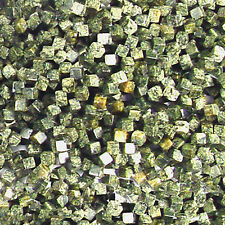 "4MM RUSSIAN JADE DICE NATURAL GEMSTONE BEADS 15"" square"
