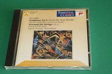 """CD DVORAK """"SYMPHONIE N°9 & SÉRÉNADE CORDES"""" ORMANDY & KEMPE / SONY 1990, TB ÉTAT"""